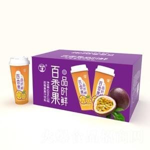 望花潭品时鲜百香果果汁饮料620ml×15瓶