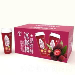望花潭品时鲜冰杨梅果汁饮料620ml×15瓶