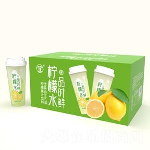 望花潭品时鲜柠檬水果汁饮料620ml×15瓶