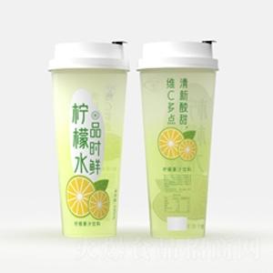 望花潭品时鲜柠檬水果汁饮料630ml