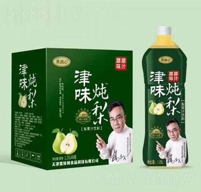 果润心津味炖梨果汁饮料1.25LX6