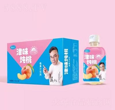 果润心津味炖桃果汁饮料350mlX15