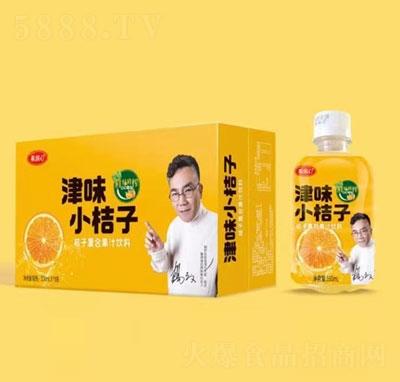果润心津味小桔子果汁饮料350mlX15