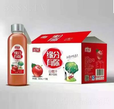 宋乐山楂汁果汁饮料350mlX15瓶