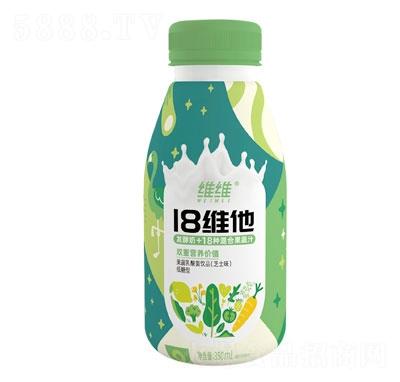 维维18维他果蔬乳酸菌饮品芝士味350ml