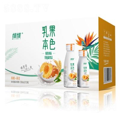 �S�S乳果本色酸奶�L味乳酸菌�品(�S桃+燕��)