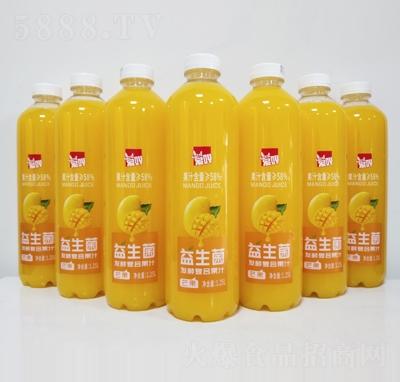 爱吖益生菌发酵芒果汁1.25L