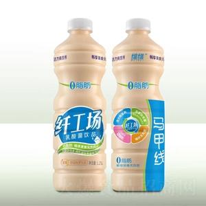 维维纤工场0脂肪乳酸菌饮品1.25L