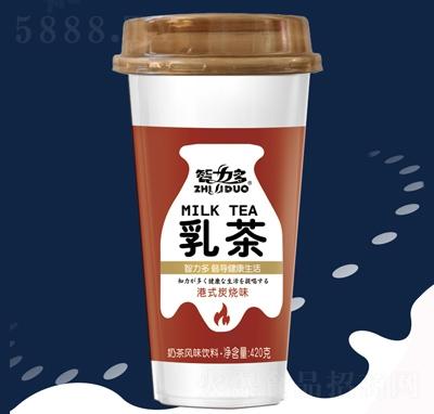 智力多乳茶奶茶风味饮料港式炭烧味