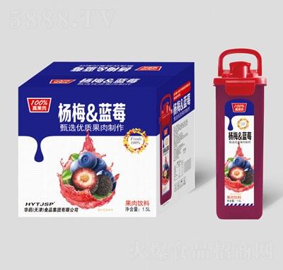 庞迪杨梅&蓝莓果肉饮料