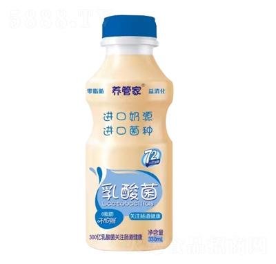 养管家乳酸菌饮品330ml