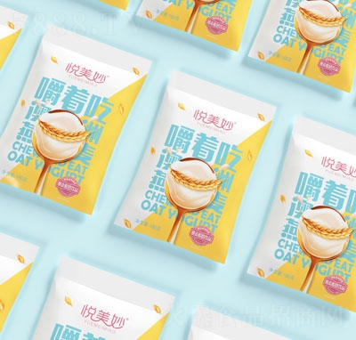 悦美妙嚼着吃燕麦酸奶饮品(袋)