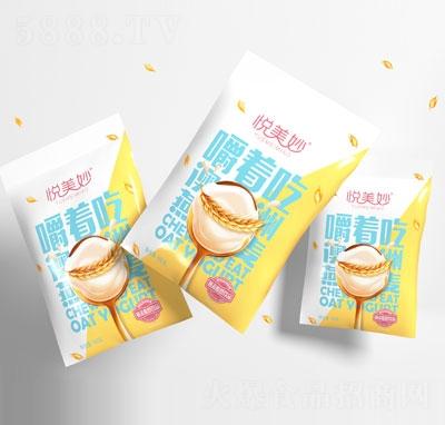 悦美妙嚼着吃燕麦酸奶饮品