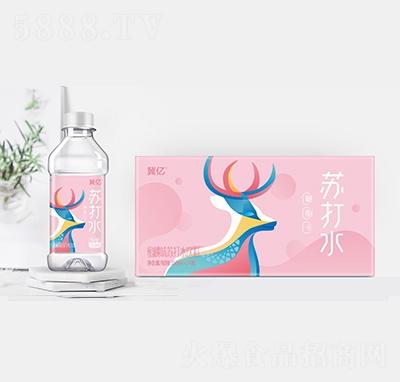 冀忆水蜜桃味苏打水350毫升箱装
