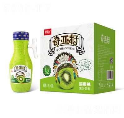 星�光奇��籽�J猴桃果汁�料1.5LX6瓶