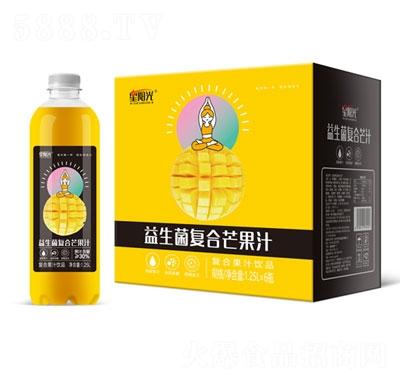 星阳光益生菌复合芒果汁1.25LX6