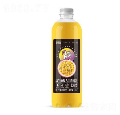 星阳光益生菌复合百香果汁1.25L