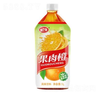 情之��果肉橙�L味�料1L