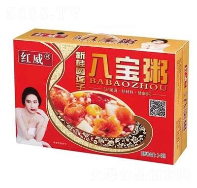 红威新桂圆莲子八宝粥产品图