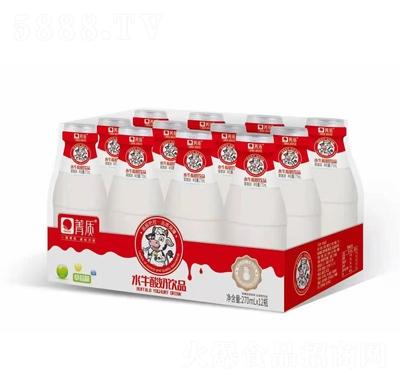 箐质水牛酸奶饮品草莓味箱装