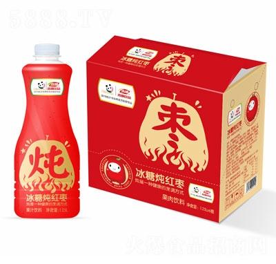 浩明冰糖炖红枣果汁饮料1.25L
