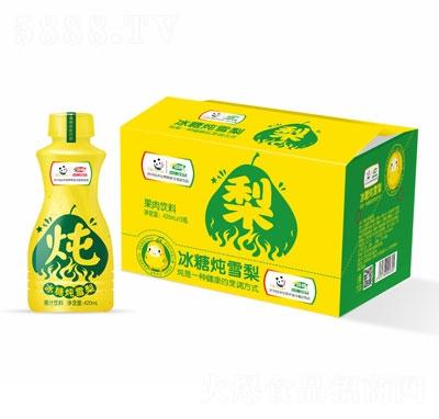 浩明冰糖炖雪梨果汁饮料420ml