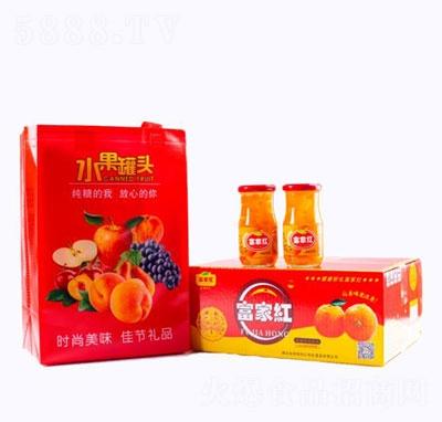 富家红水果罐头(箱)产品图
