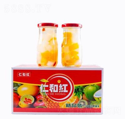 仁和红什锦水果罐头(精品装)产品图