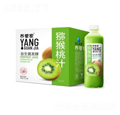 养管家益生菌发酵猕猴桃汁1.25LX6瓶