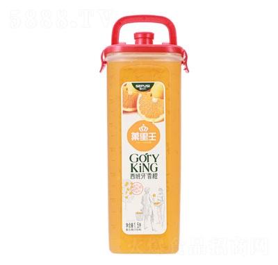 禧百氏拎桶果汁西班牙香橙味1.5L