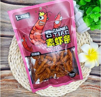 仁尚家素虾条香辣味95g