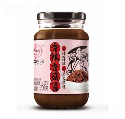 趣味来香辣香菇酱200g产品图