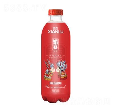 咸露婚宴专用饮用纯净水380ml产品图