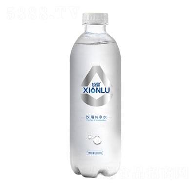 咸露饮用纯净水380ml产品图