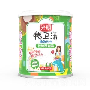 光明畅卫清酸奶风味鲜什锦西米露1x12x312g
