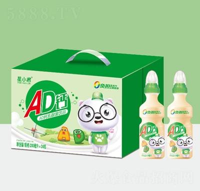星小君AD�}乳酸菌�品(2瓶+箱)
