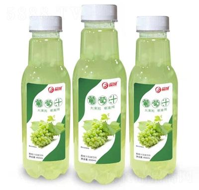益城大果粒葡萄汁风味饮料450ml(瓶)