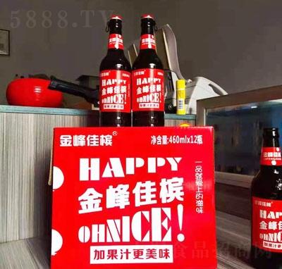 金峰佳槟果味汽水460ml×12瓶