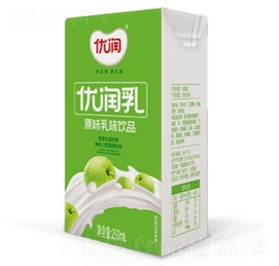 优润原味乳味饮品盒装250ml