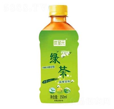 优圣元绿茶350ml