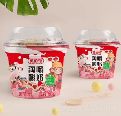 英伯�D淘嚼酸奶(�t豆+酸奶)145g