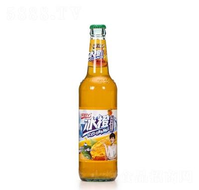 纯挚100橙味碳酸饮料480毫升