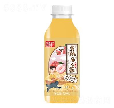 果以鲜蜜桃乌龙茶420ml
