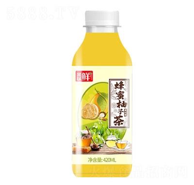 果以鲜蜂蜜柚子茶420ml