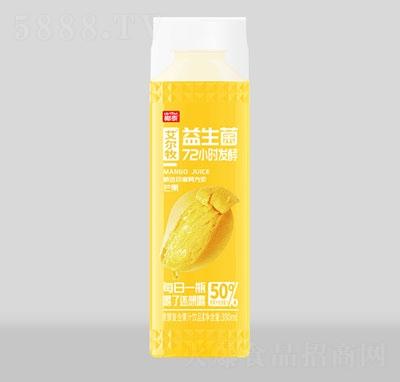 艾尔牧益生菌芒果发酵果汁380ml