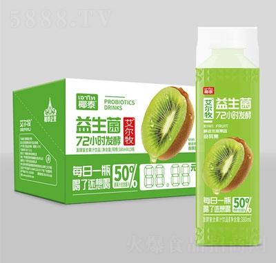 艾尔牧益生菌发酵复合果汁奇异果380mlx15瓶