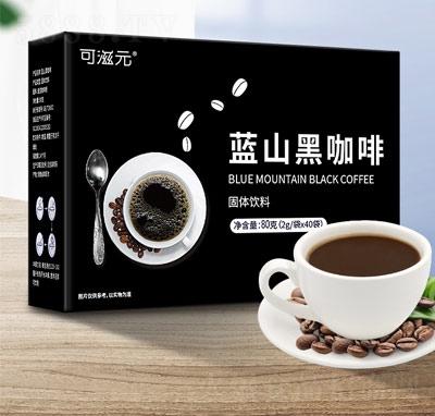 亨博士蓝山黑咖啡固体饮料80克产品图
