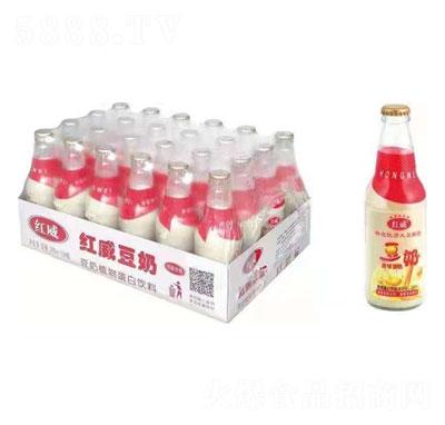 红威豆奶产品图