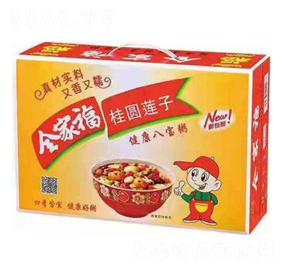 红威桂圆莲子八宝粥产品图