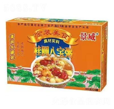 红威桂圆八宝粥360gX24产品图